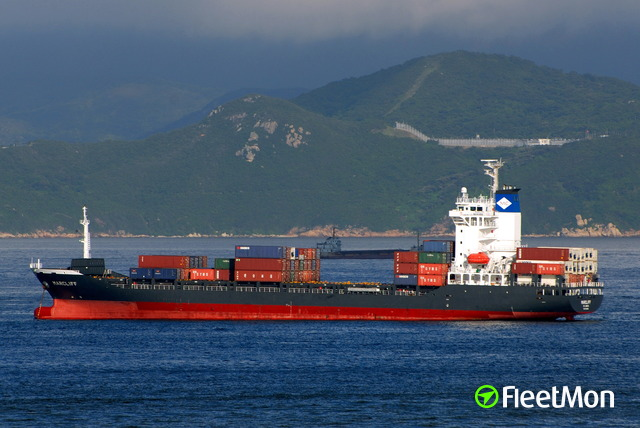 Triple collision of US/German container ships in Yokohama UPDATE PHOTOS