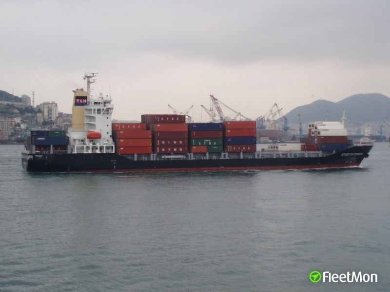 Container ship MARCONNECTICUT involved in hit&run in Taiwan Strait