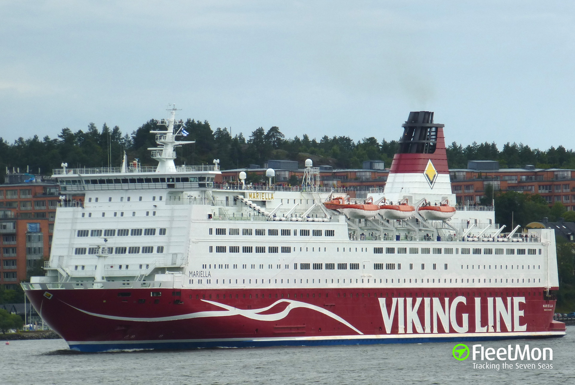 Faulty fire system damaged cabins and passengers luggage, Viking Line