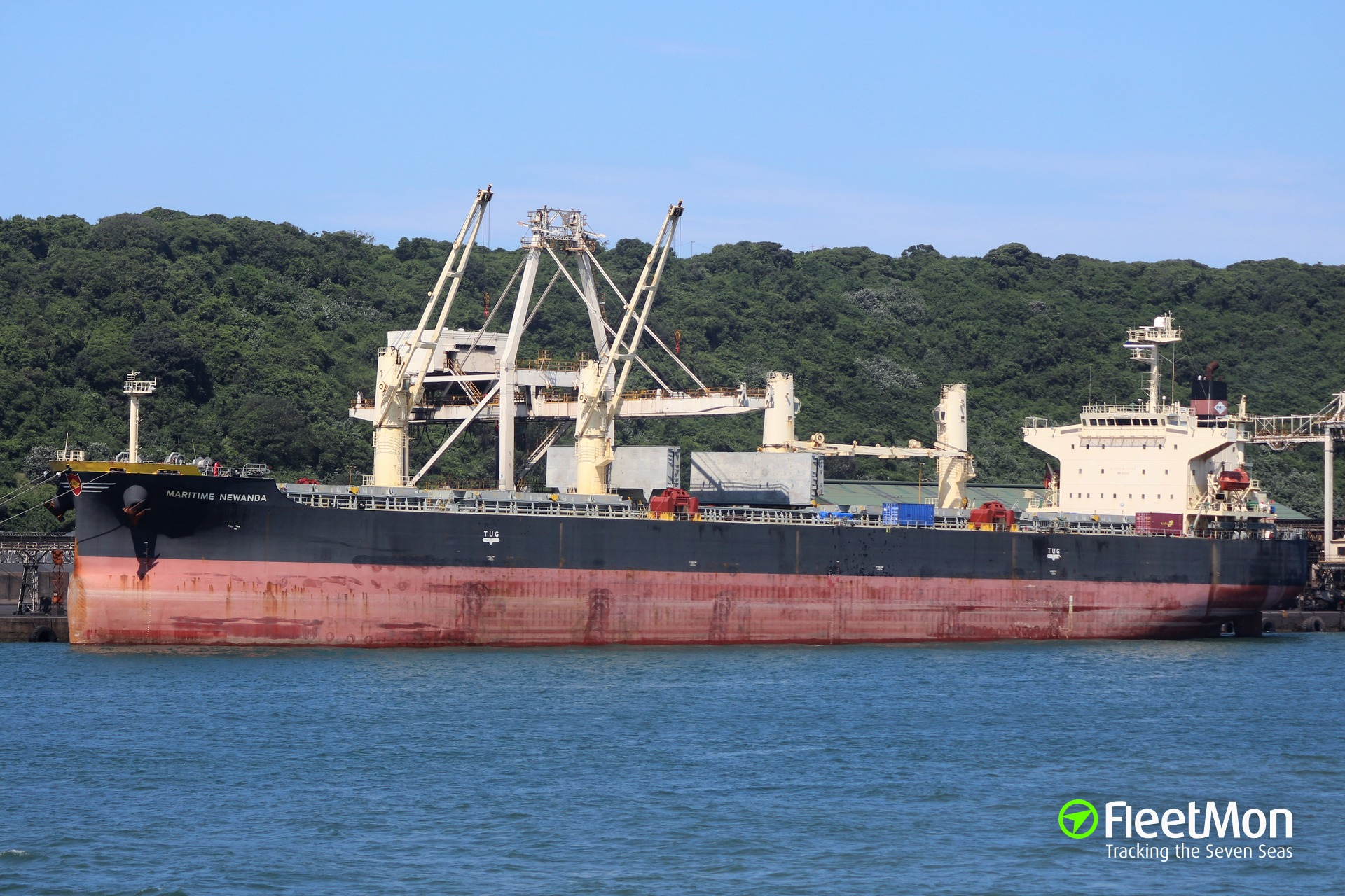 Durban mayhem: bulk carrier MARITIME NEWANDA Correction