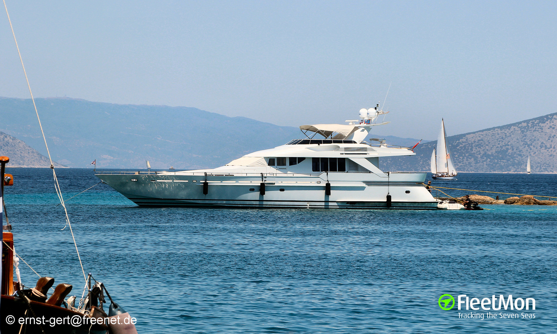 Vessel MARLA II (Yacht) IMO —, MMSI 378001221