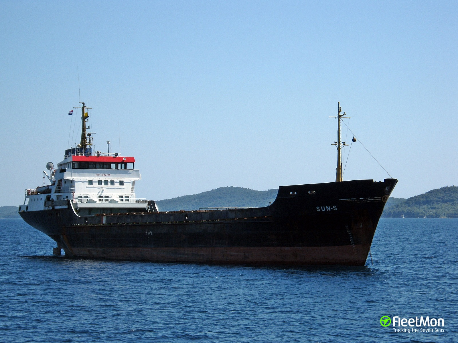 Freighter disabled in Kafirea Strait, Greece