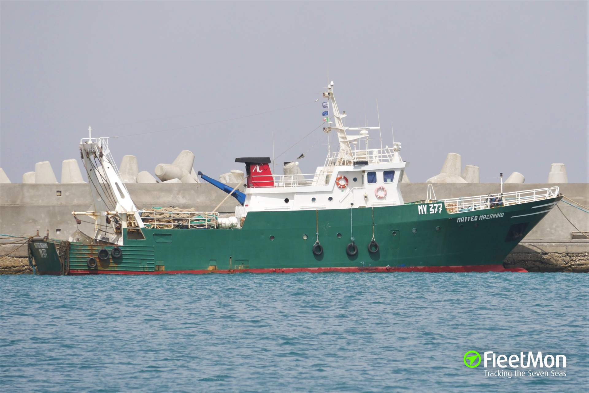 Crew of Sicilian trawler Airone captured the hijackers