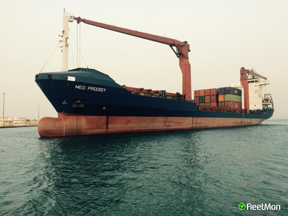 Boxship with Libya bound goods held in Tunisia UPDATE