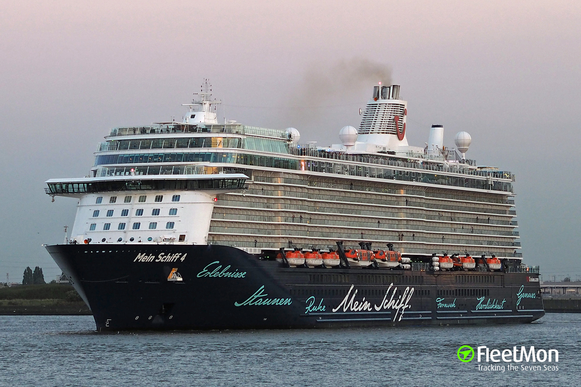 Gps Fleet Tracking Pricing >> MEIN SCHIFF 4 (Passenger ship) IMO 9678408