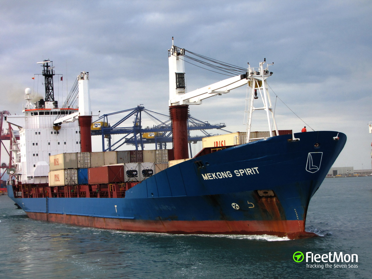 Container ship detained for possible Sudan arms embargo violation