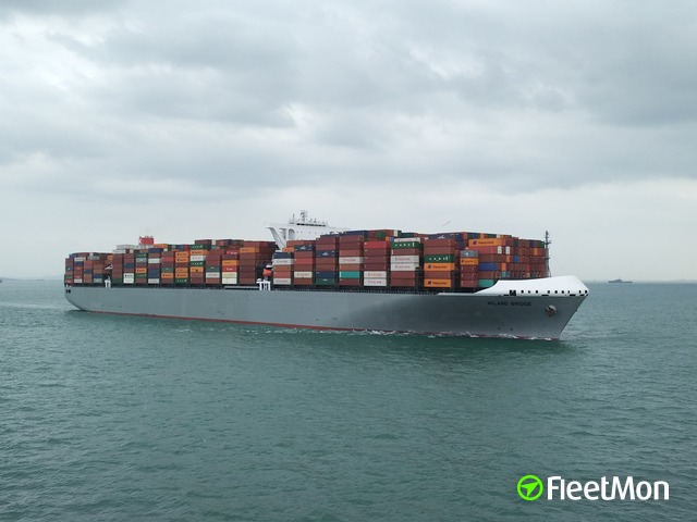 Mega container ship mishap in Busan VIDEO