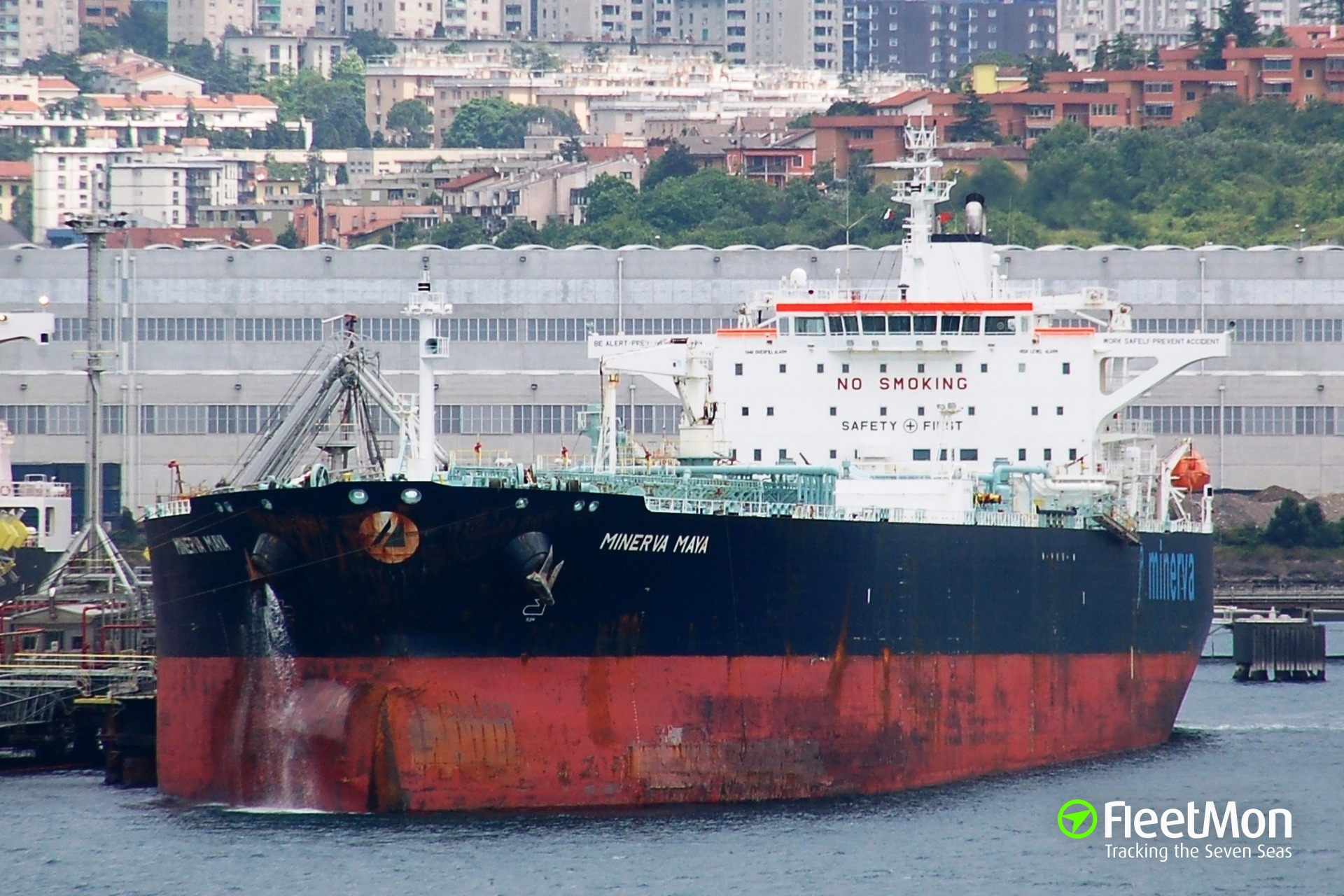 Tanker Minerva Maya collided with barges pushed by tug M.L. Crochet, Houston Ship Channel