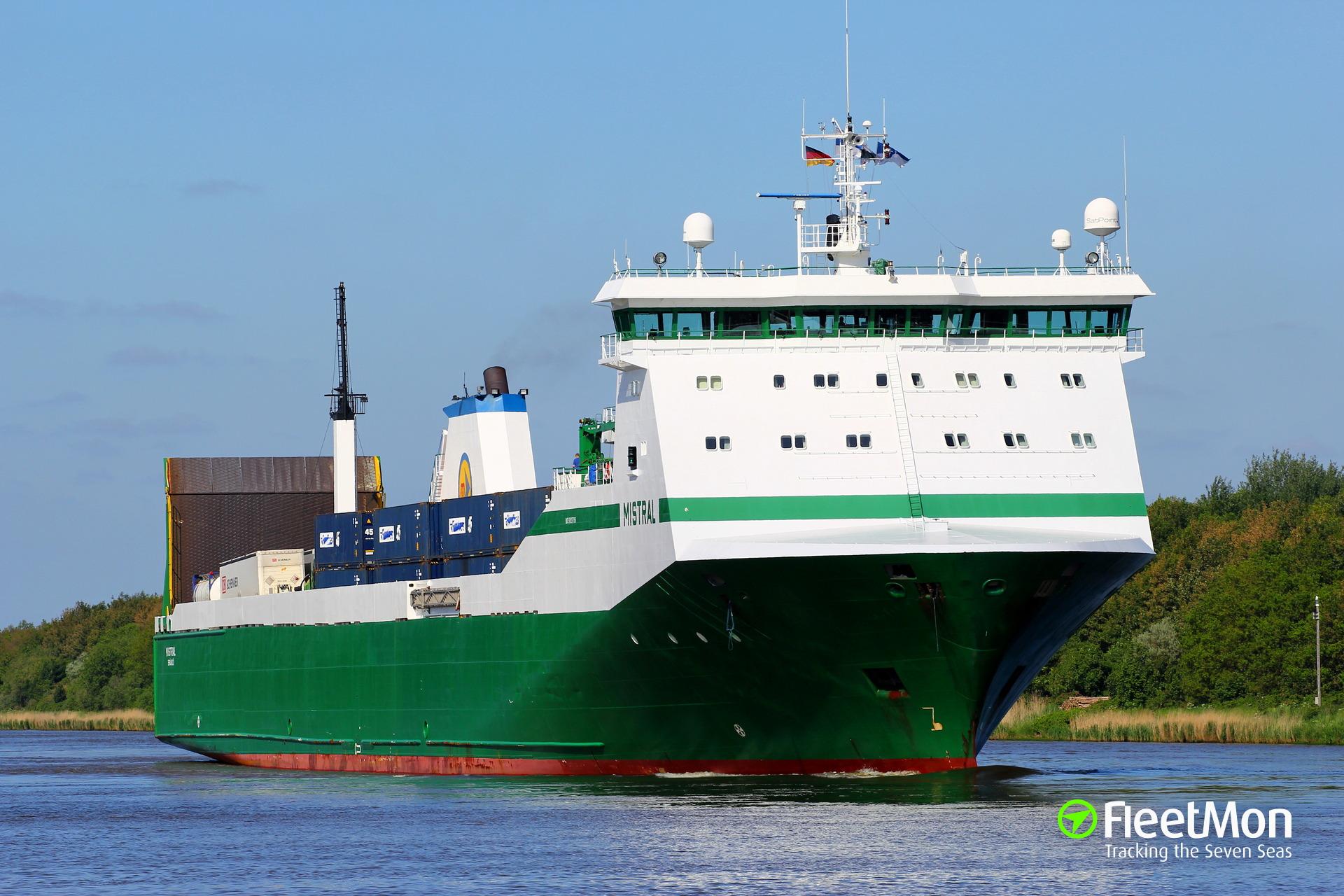 MISTRAL RoRo Ship IMO 9183788