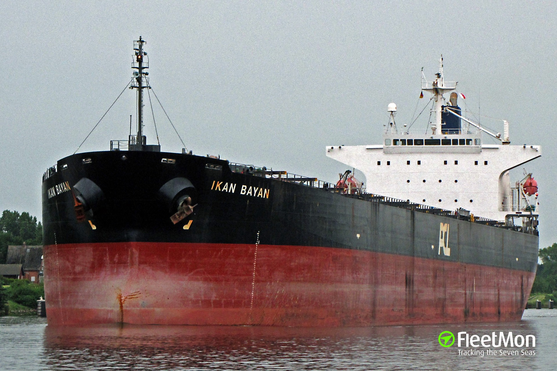 Bulk carrier Miyama grounding, Columbia river