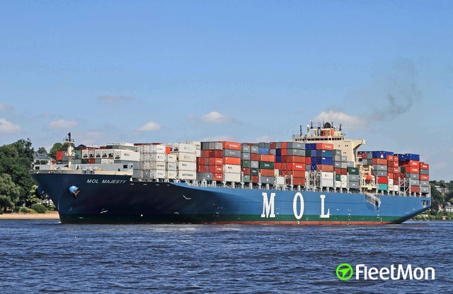 Cocaine dropped from MOL container ship to waiting traffickers