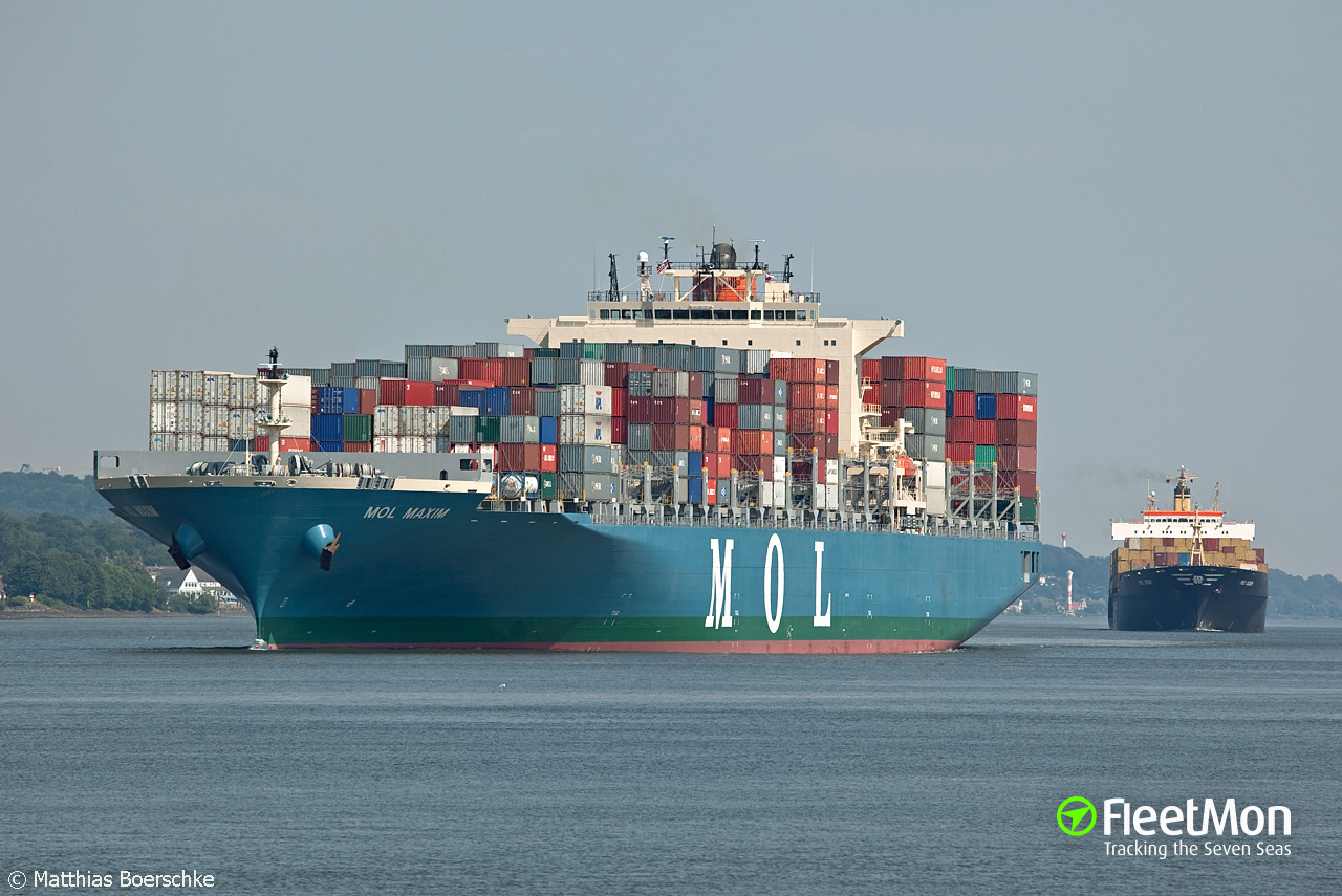 MOL MAXIM containers loss still a mystery Update