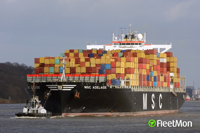 MSC container ship crashed pilot boat, Gioia Tauro