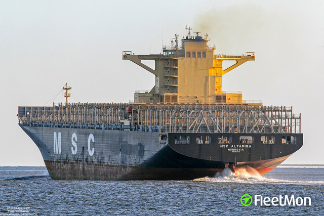 Vessel MSC ALTAMIRA