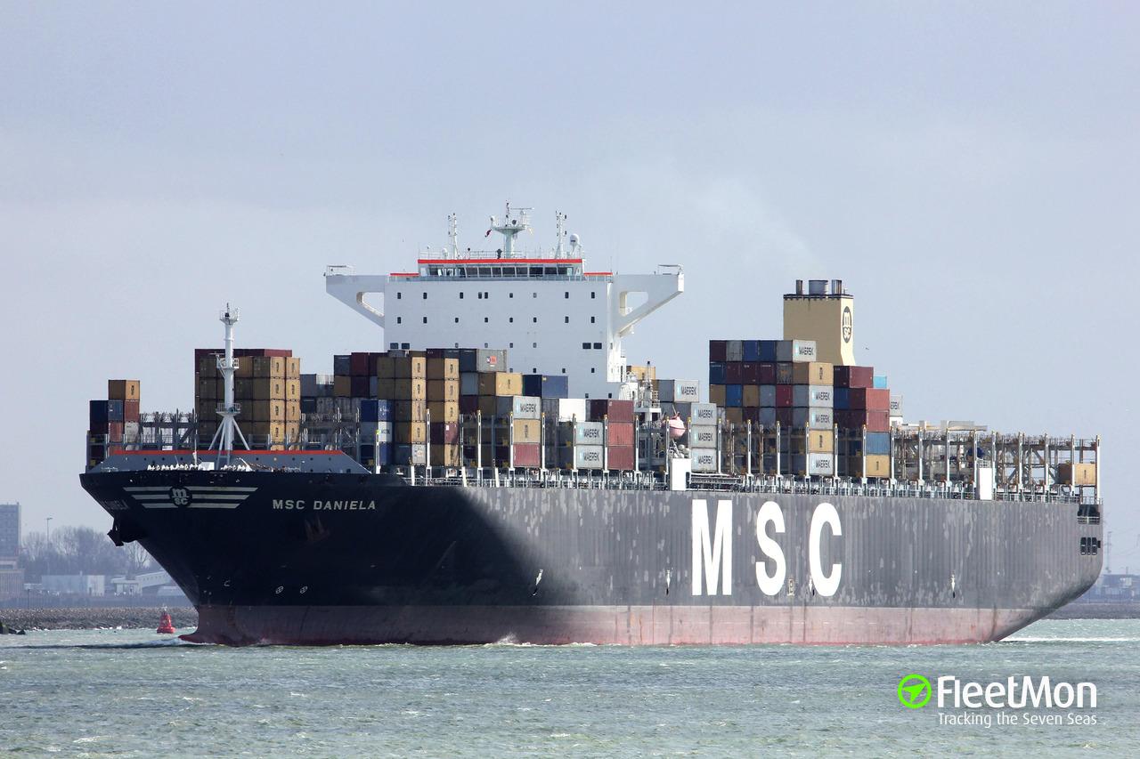 Vessel MSC DANIELA (Container ship) IMO 9399002, MMSI 370892000