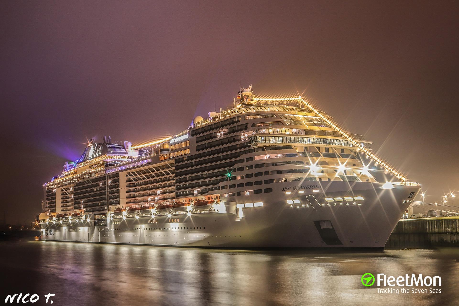 Vessel MSC GRANDIOSA (Passenger ship) IMO 9803613, MMSI ...