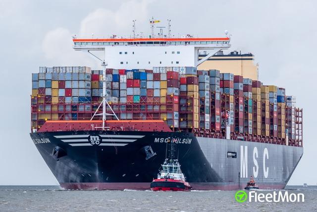 Vessel MSC GÜLSÜN (Container ship) IMO 9839430, MMSI 372003000