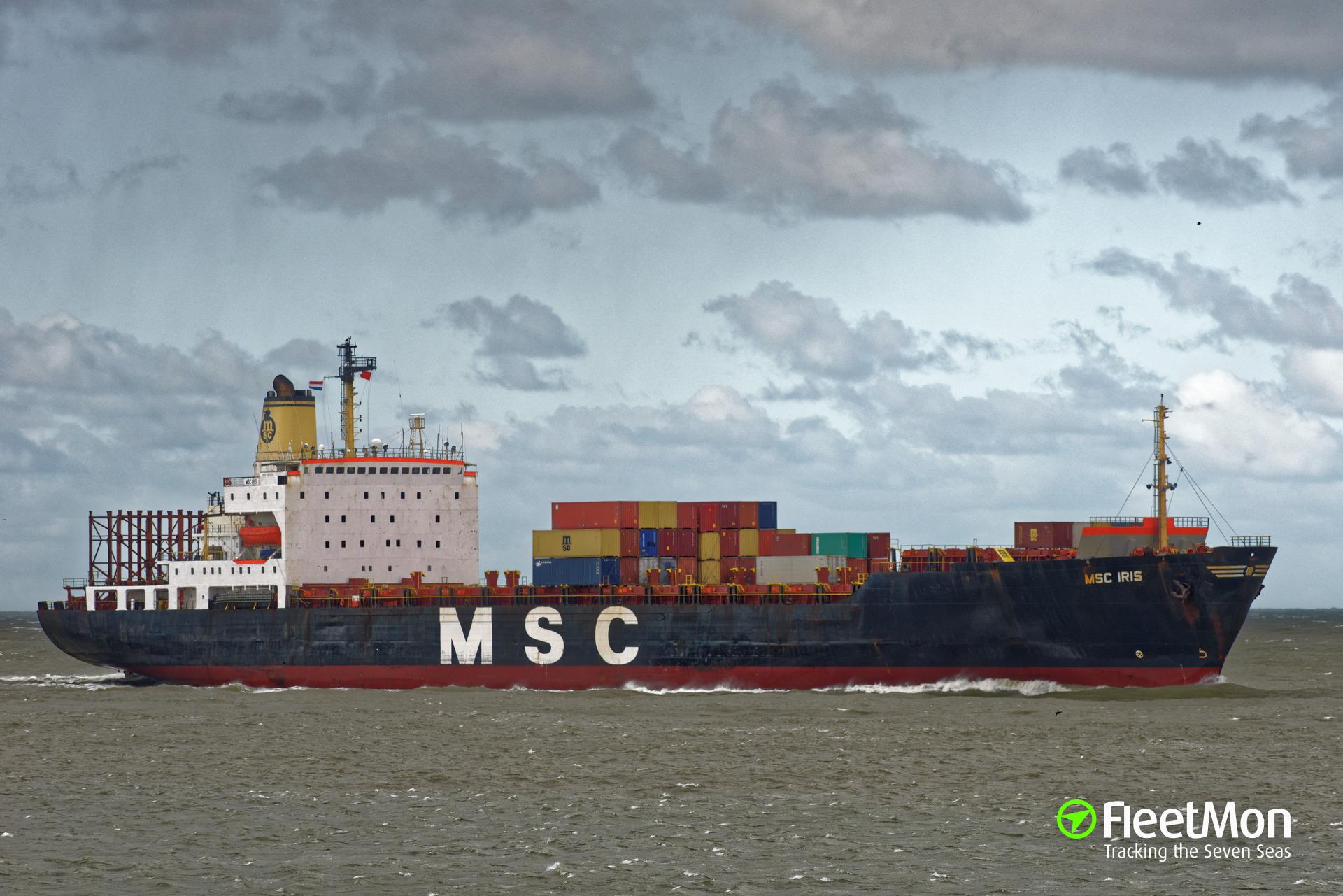 MSC IRIS troubled twice?