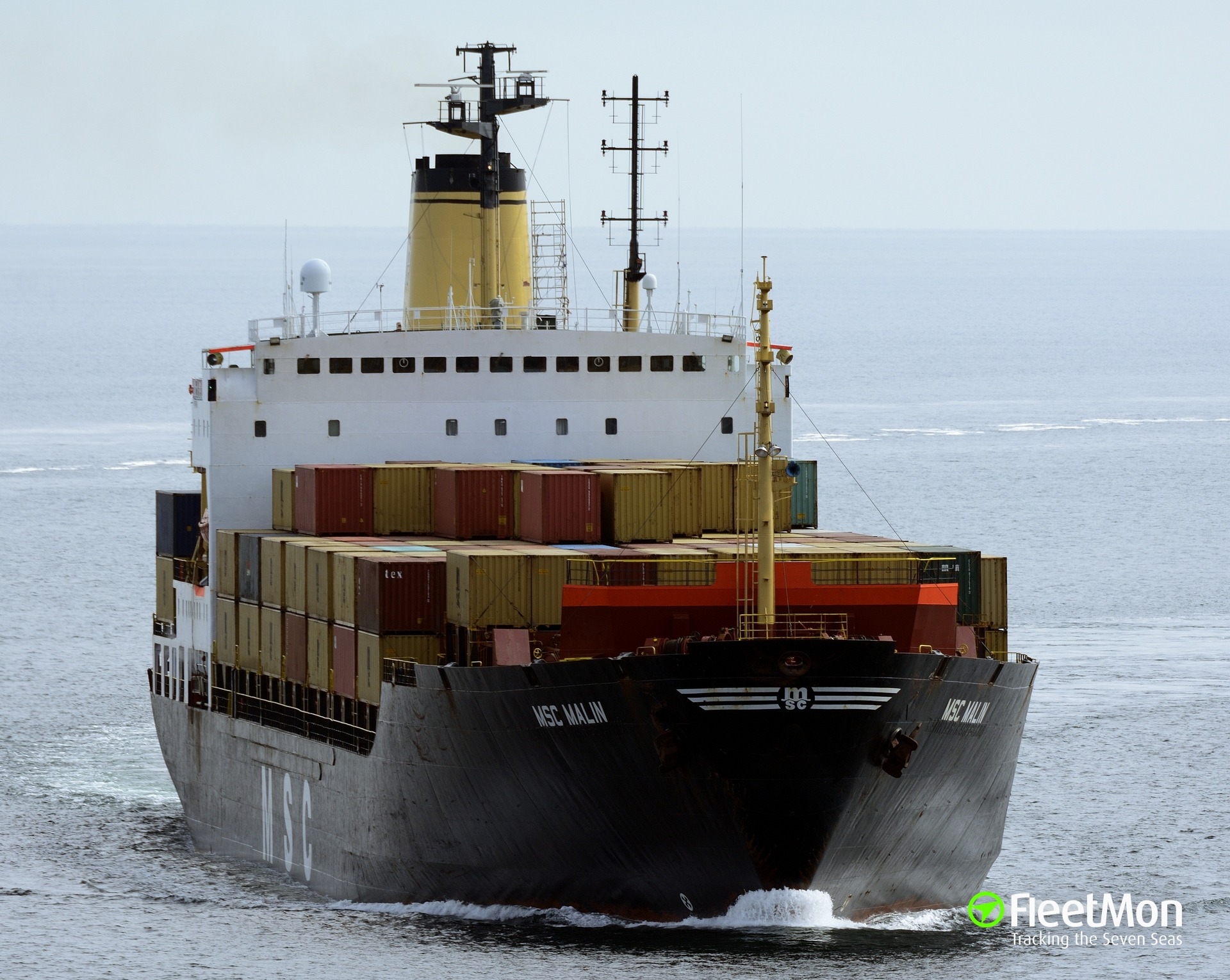 Container ship MSC Malin aground and refloated, Wester Scheldt