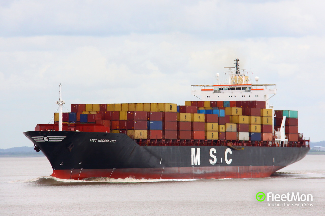 msc nederland (container ship) imo 8918954
