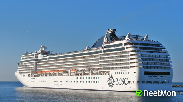 MSC cruise ships collided in Buenos Aires