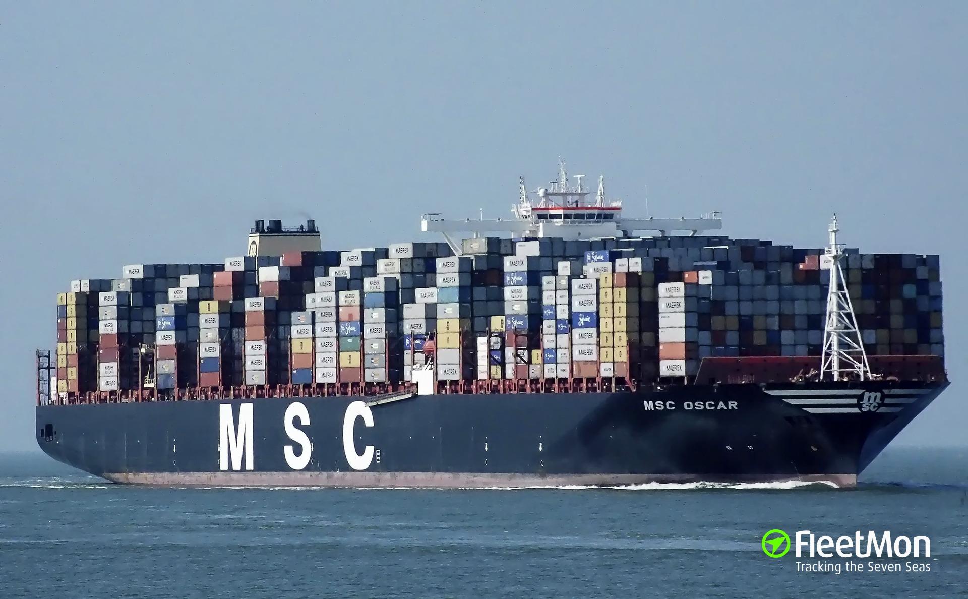 Gps Fleet Tracking Pricing >> Photo of MSC OSCAR (IMO: 9703291, MMSI: 355906000, Callsign: 3FBT7) taken by Becks93