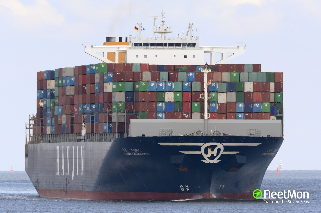 ​  Container ship MSC PERLE crew found marijuana in engine room