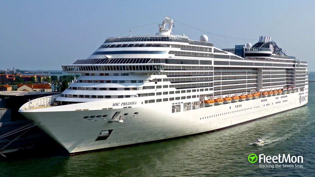 MSC PREZIOSA (Passenger ship) IMO 9595321