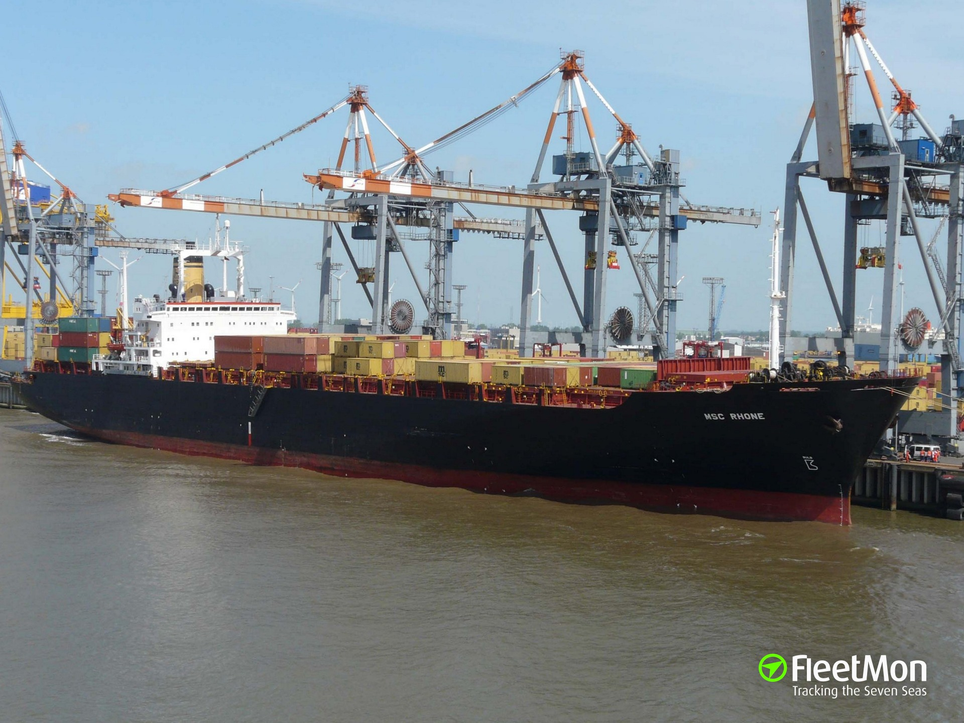 Exceptional Share Photo Of MSC RHONE
