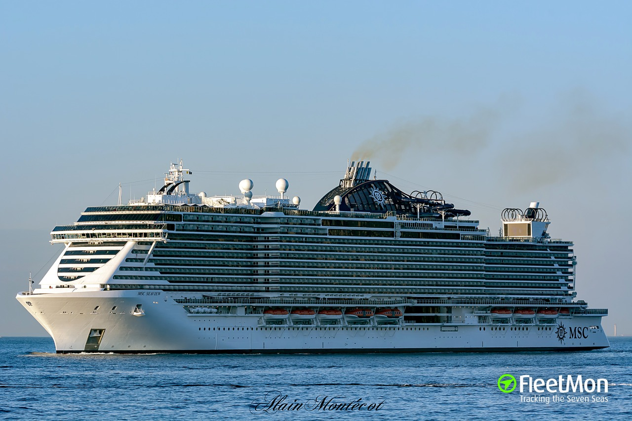 Photo of MSC SEAVIEW (IMO: 9745378, MMSI: 248717000 ...