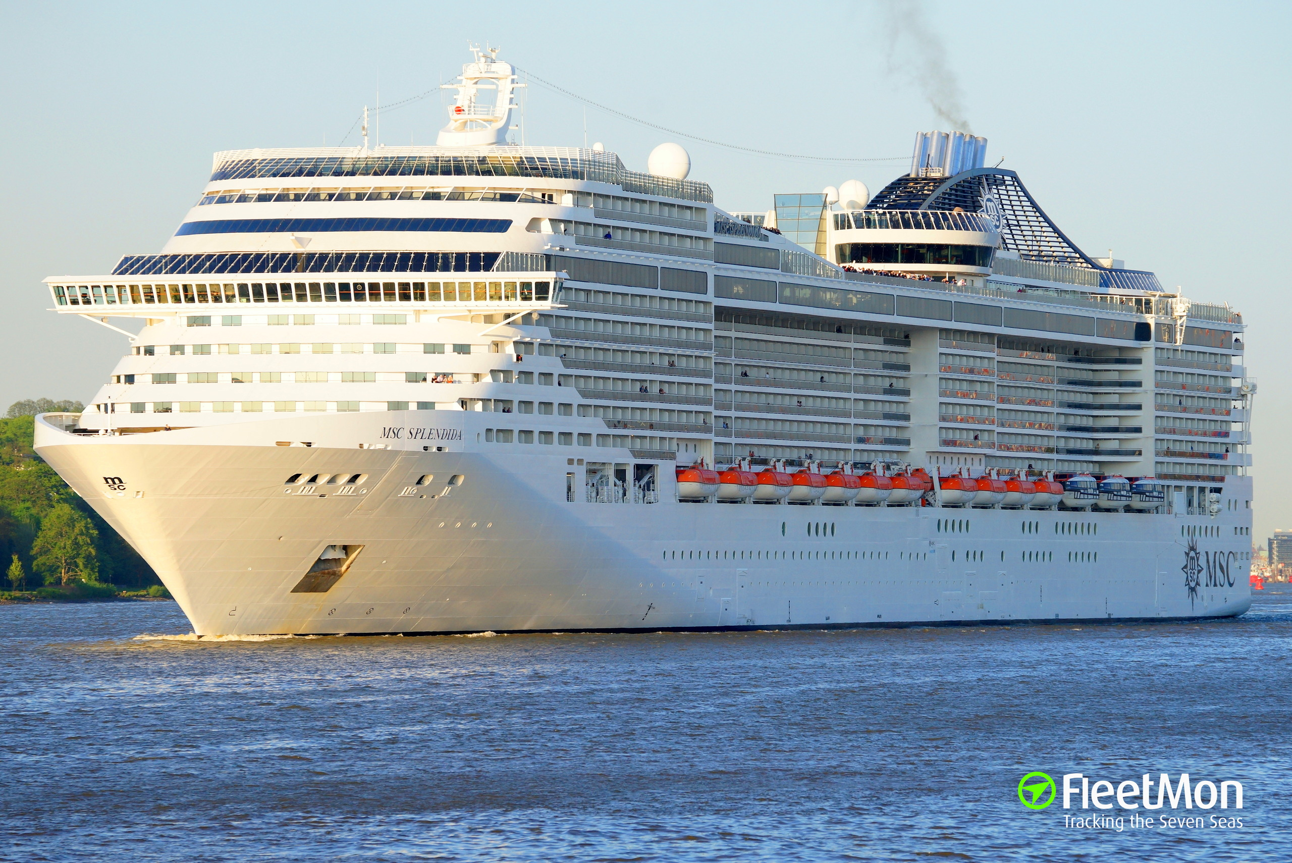 Photo of MSC SPLENDIDA (IMO: 9359806, MMSI: 357698000 ...