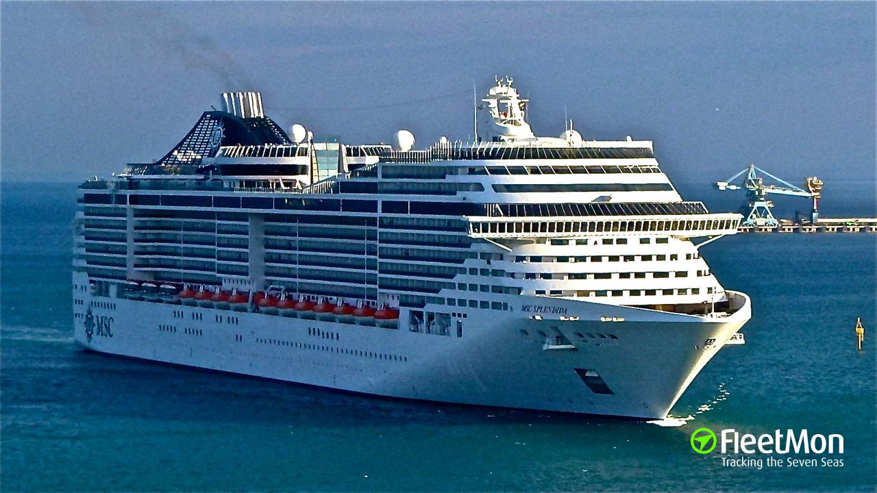 MSC SPLENDIDA (Passenger ship) IMO 9359806