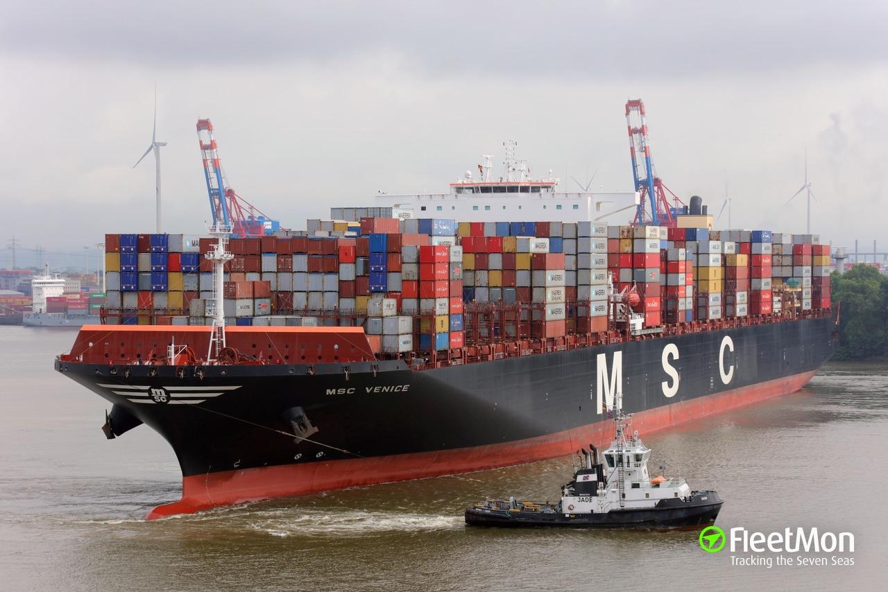 MSC VENICE (Container ship) IMO 9647473