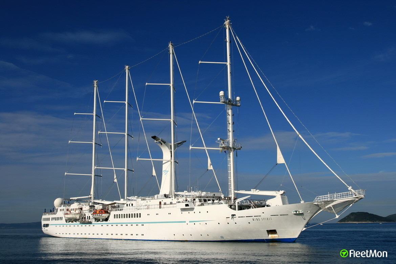 MSY WIND SPIRIT Passenger Ship IMO - Wind spirit