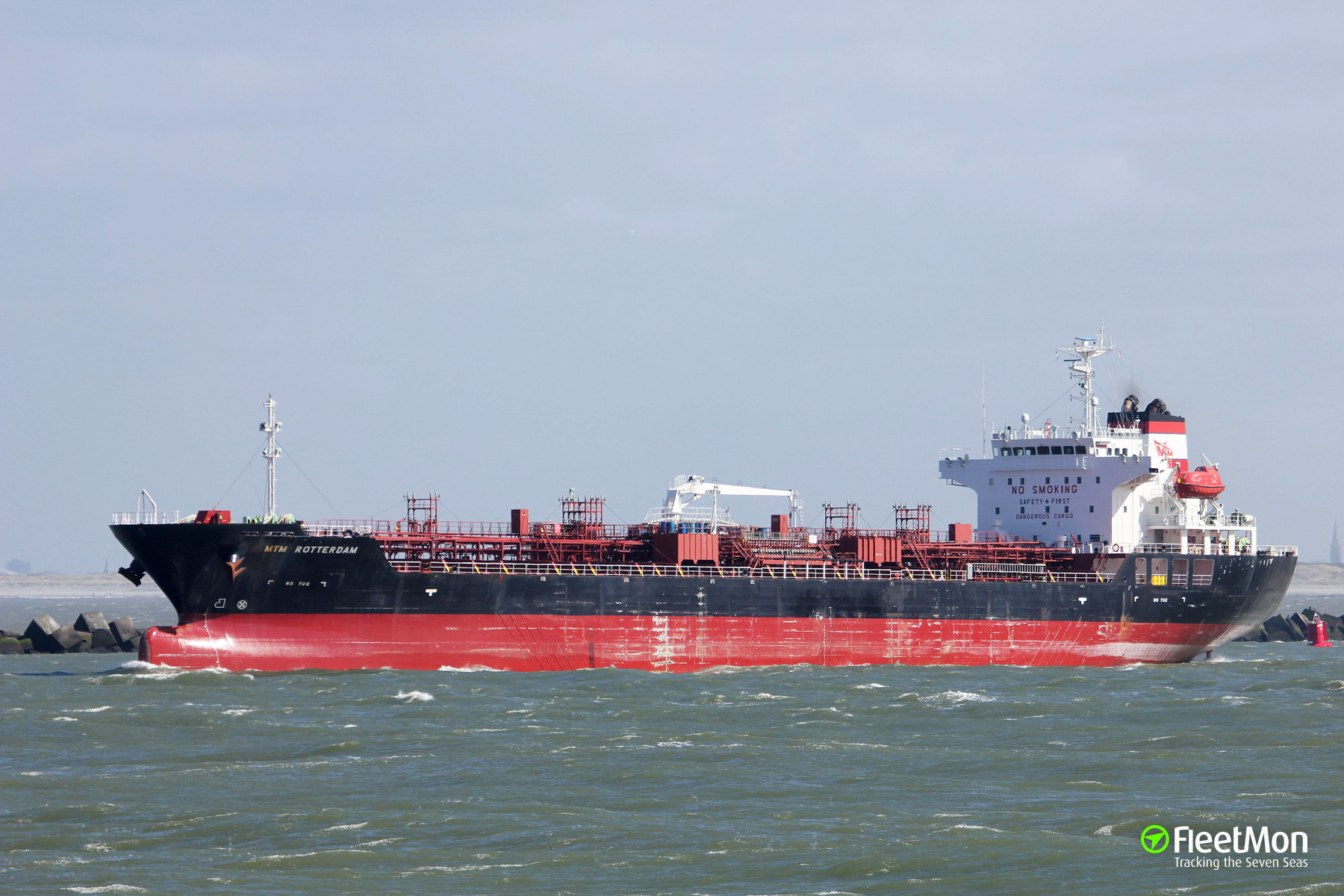 Product tanker MTM Rotterdam had to divert to Bermuda