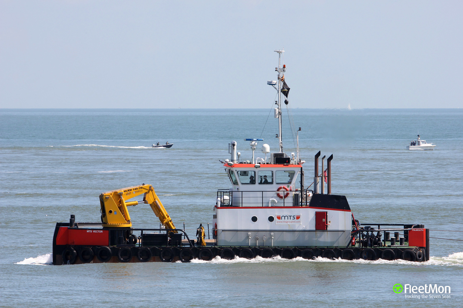 Tug MTS Vector lost barge