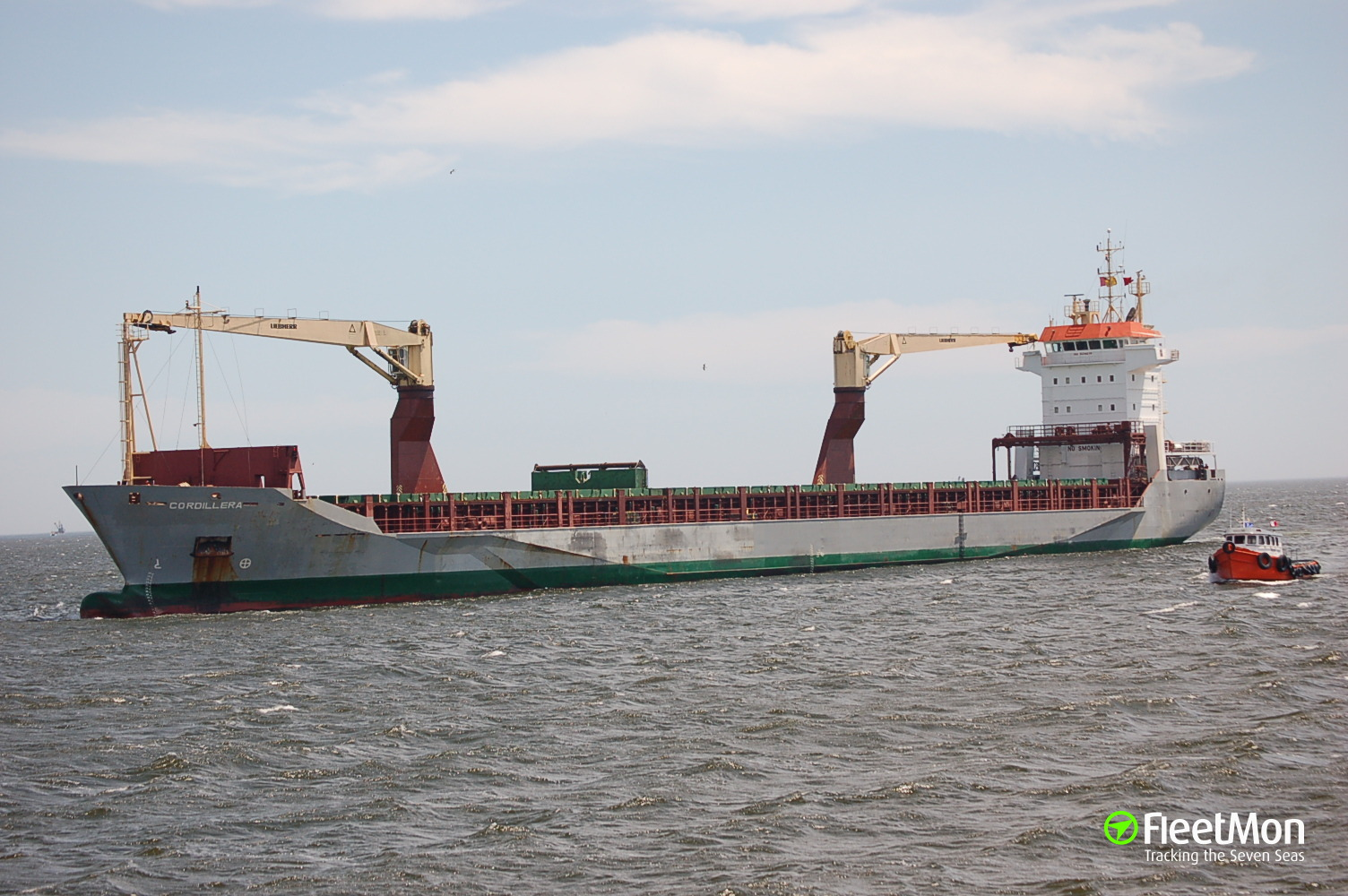 Freighter TCI Arjun lost 5 containers in Arabian sea