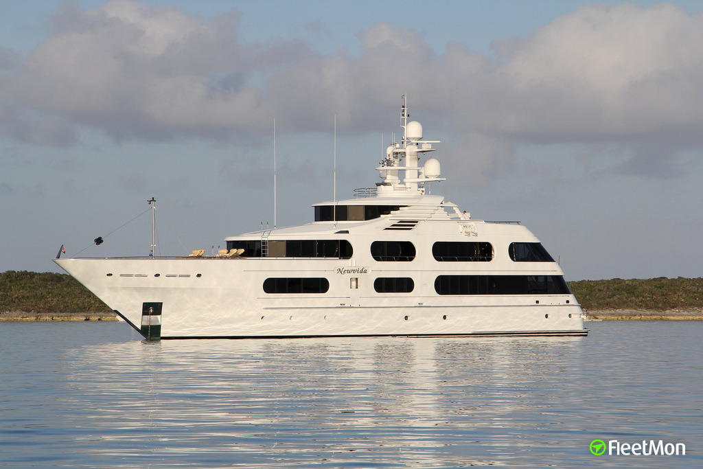 Vessel MY SEANNA (Yacht) IMO 9024152, MMSI 538080049