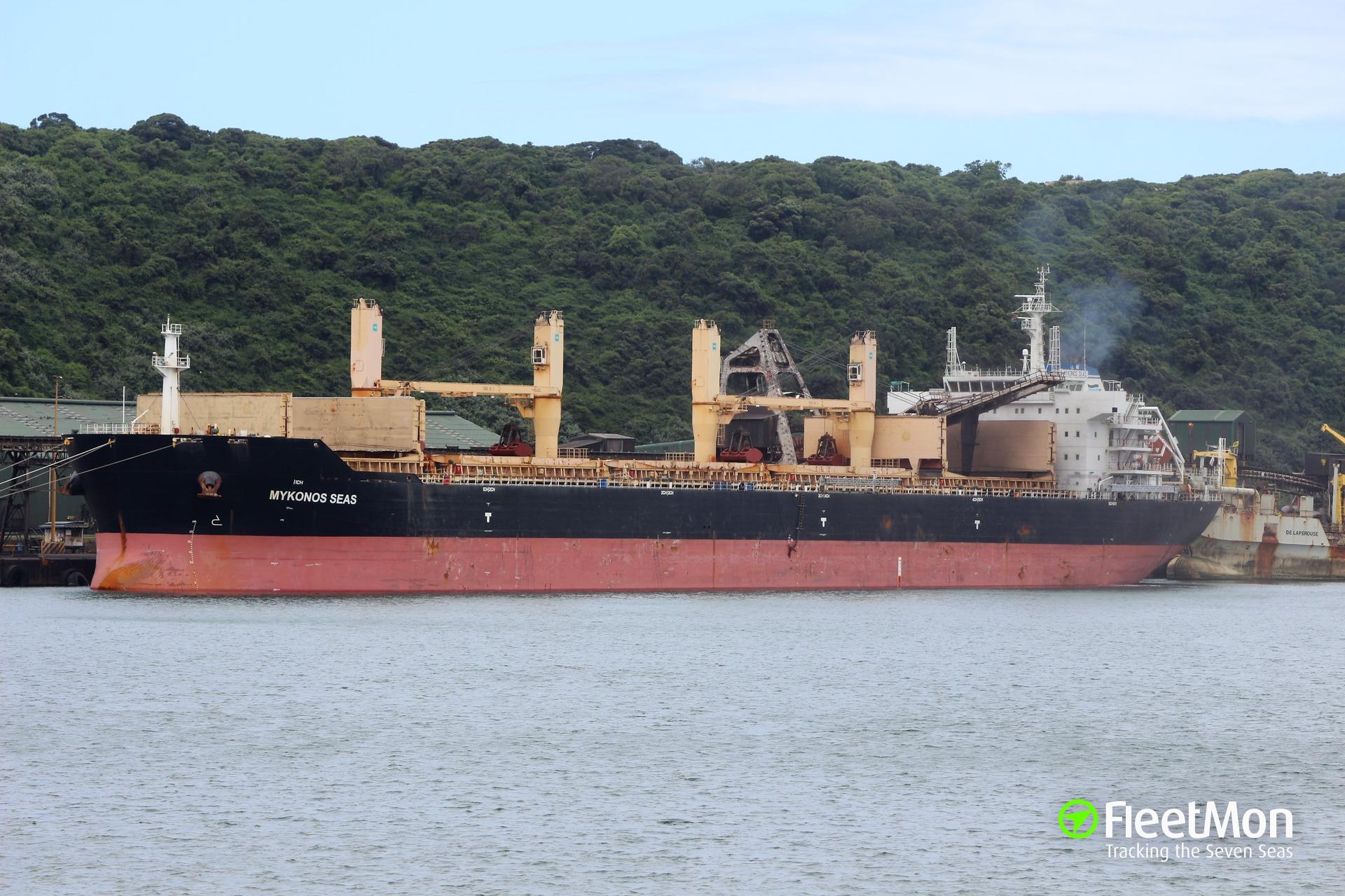 Bulk carrier Mykonos Seas medevac