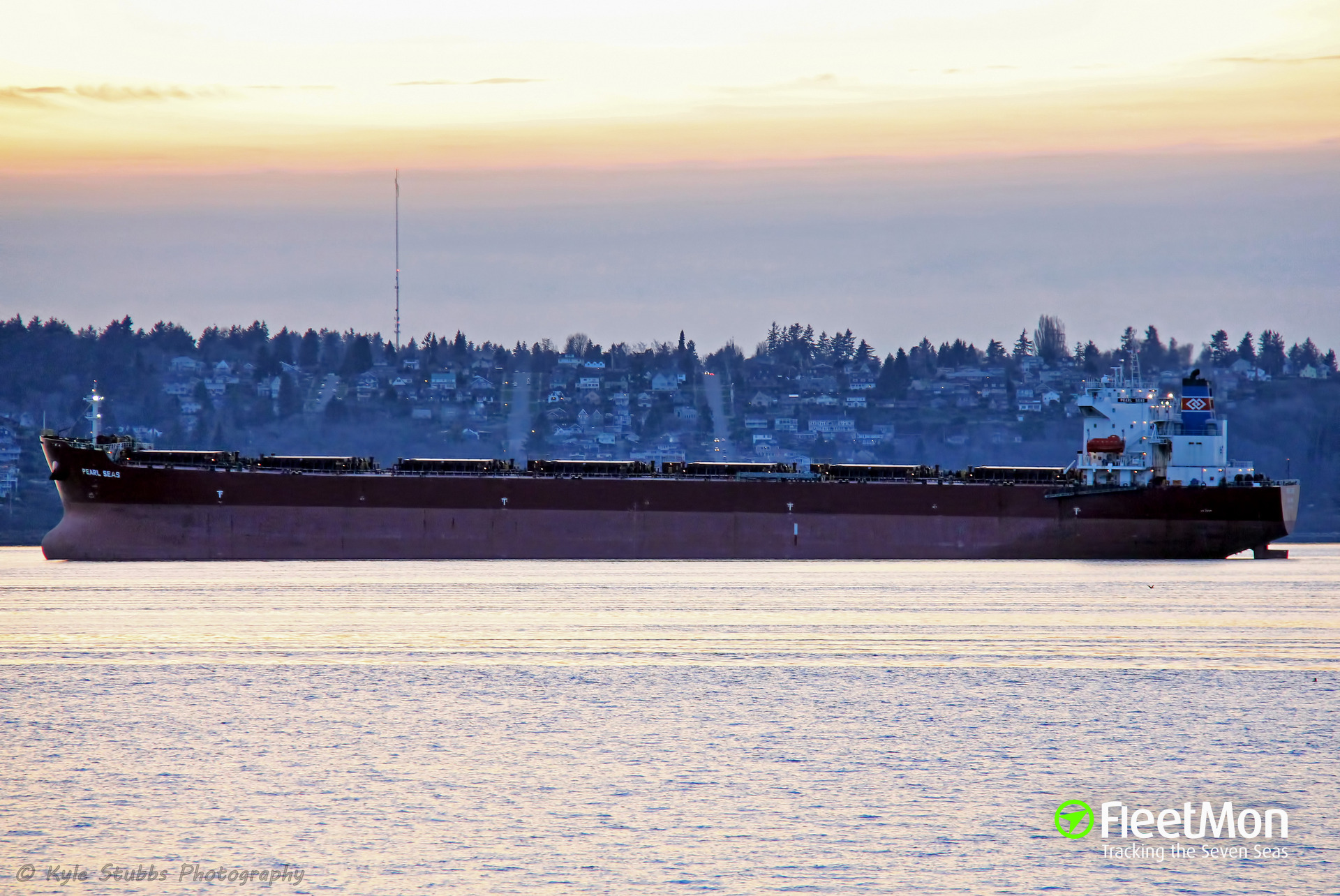 Bulk carrier Pearl Seas troubled in the Pacific