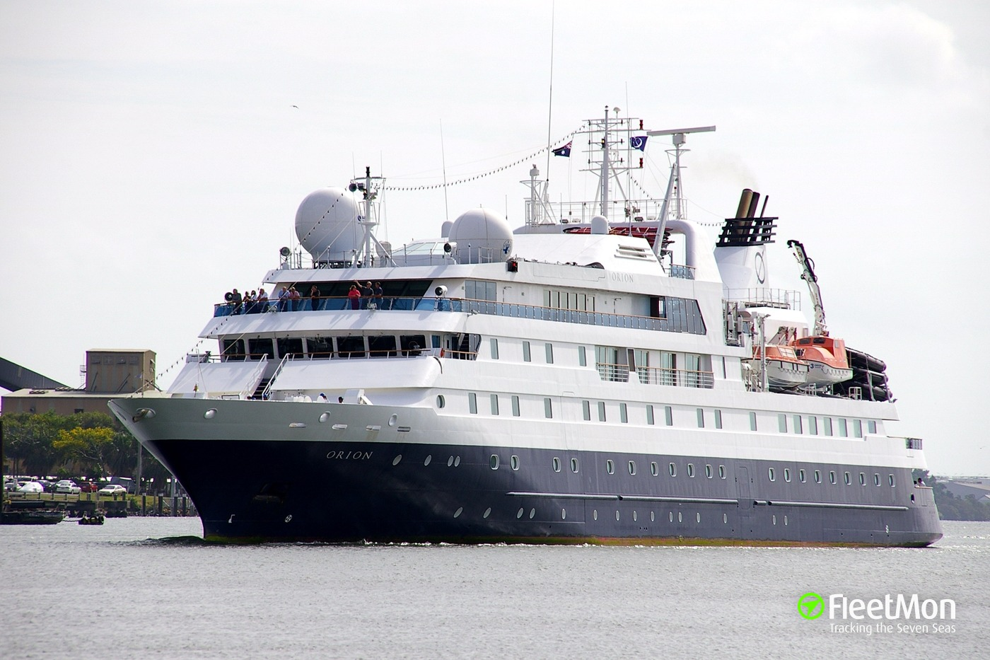 Cruise Ship NAT GEO ORION Troubled While Returning From