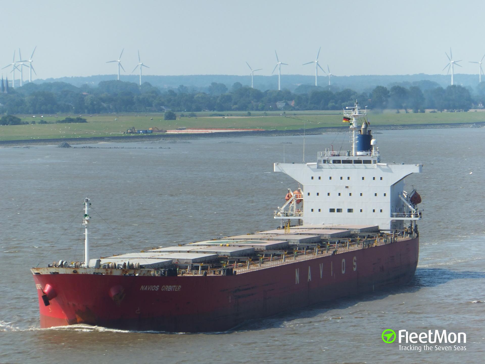 Disabled Navios' Panamax towed back to Lisbon