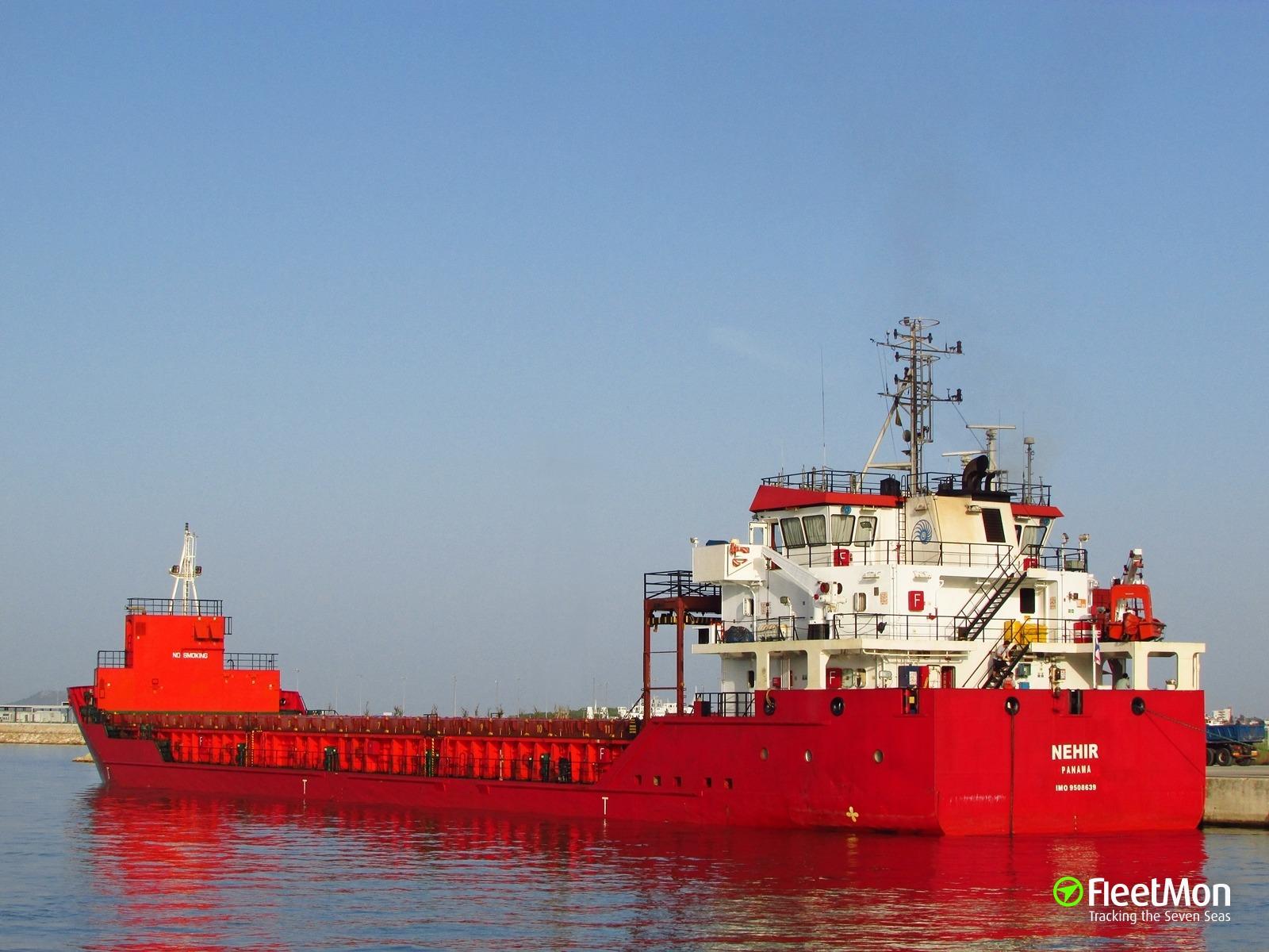 Turkish general cargo ship suspect in Black Sea pollution