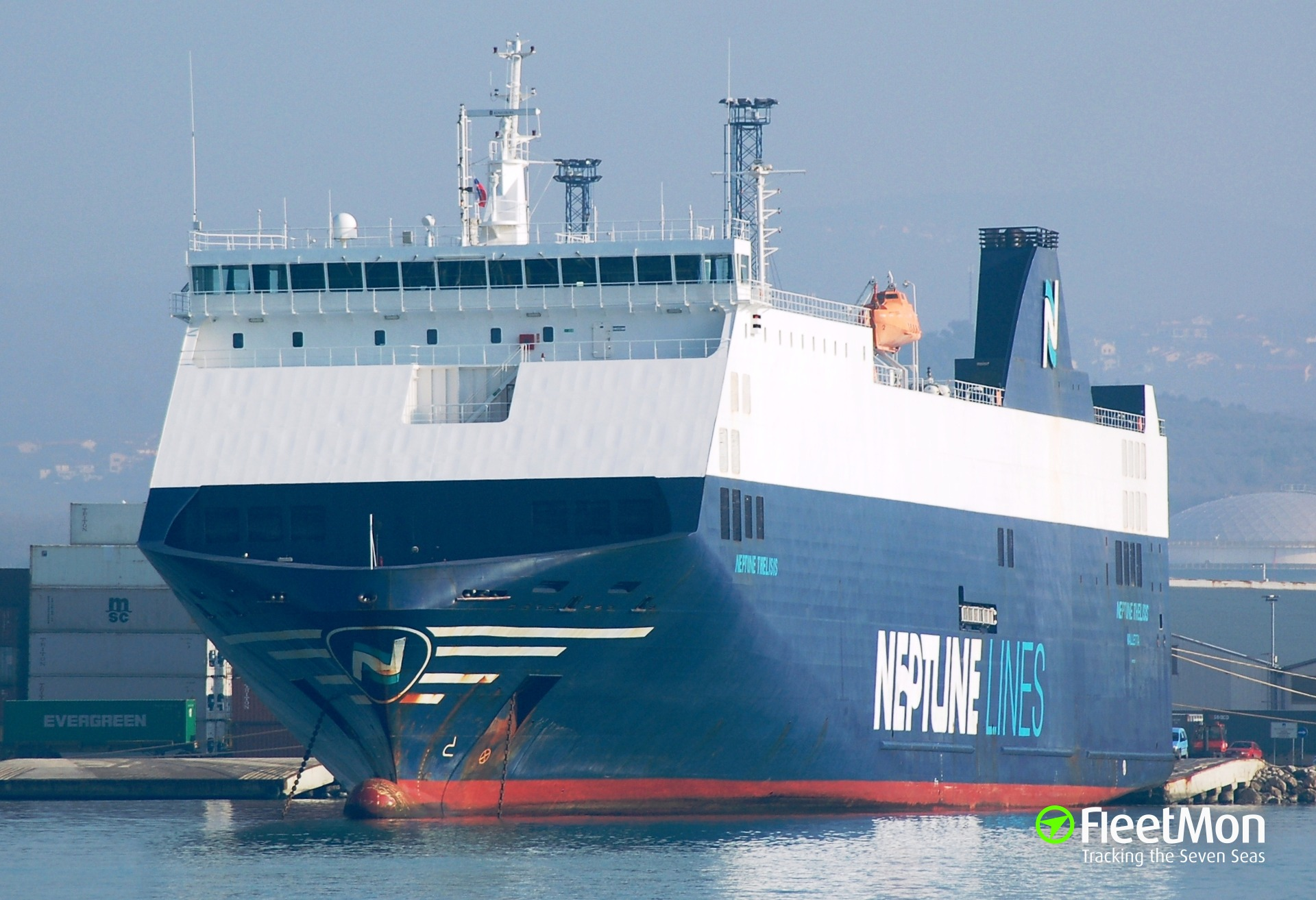 Car carrier NEPTUNE THELISIS mishap at Koper, Slovenia. Who's to blame?