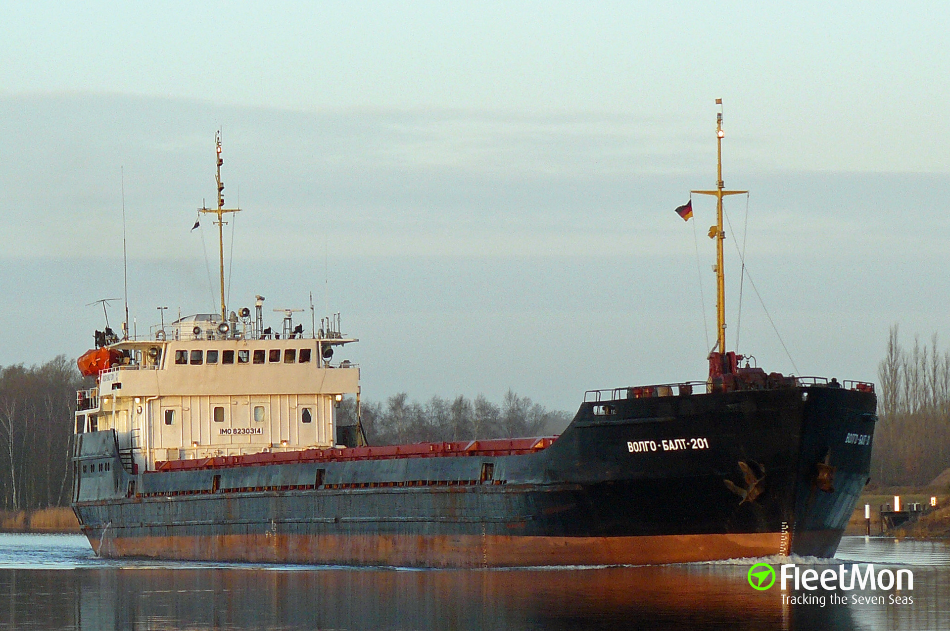 Freighter Seashell fled Ukrainian waters fearing arrest
