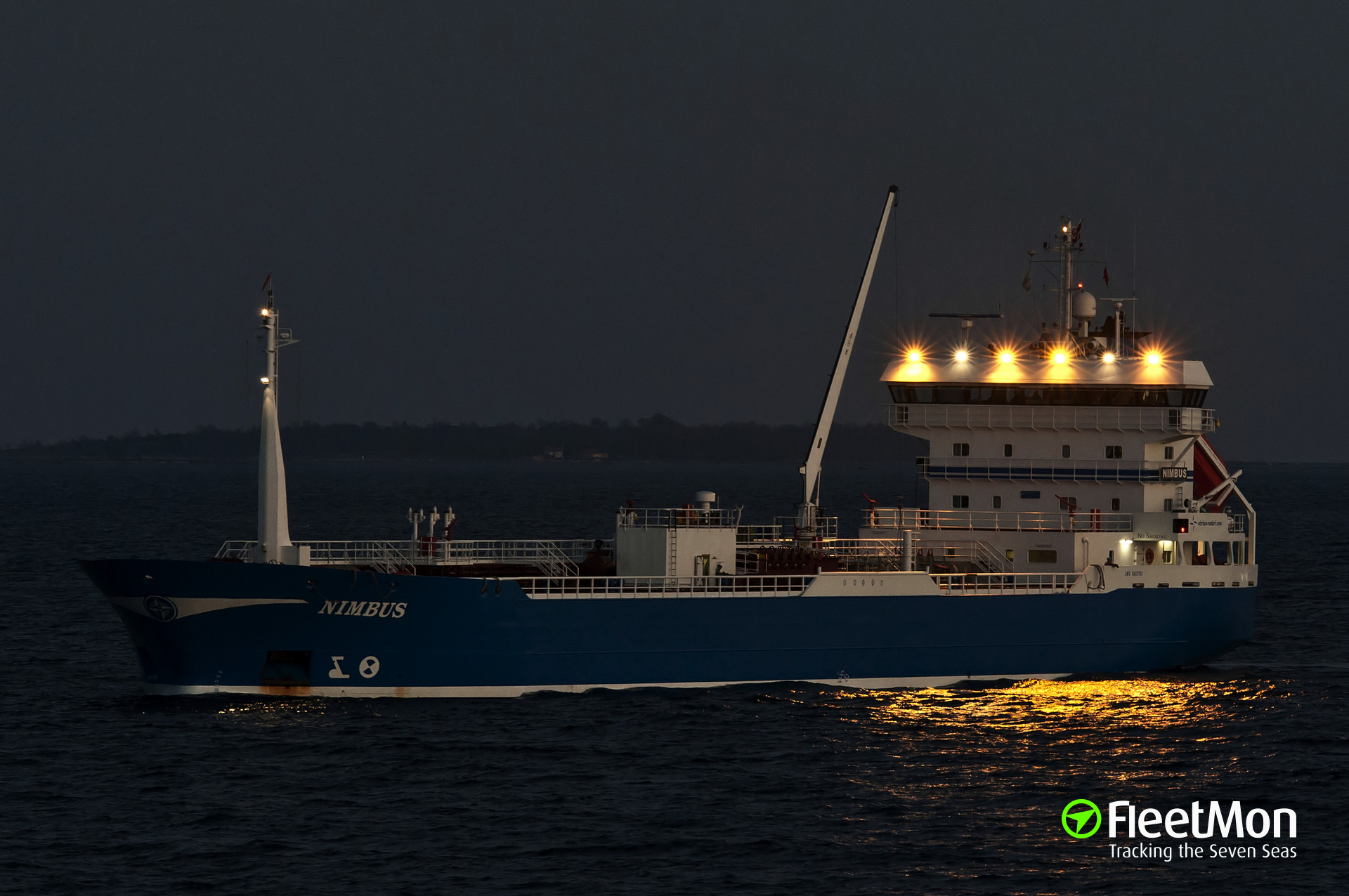 Tanker NIMBUS grounding, S-Petersburg