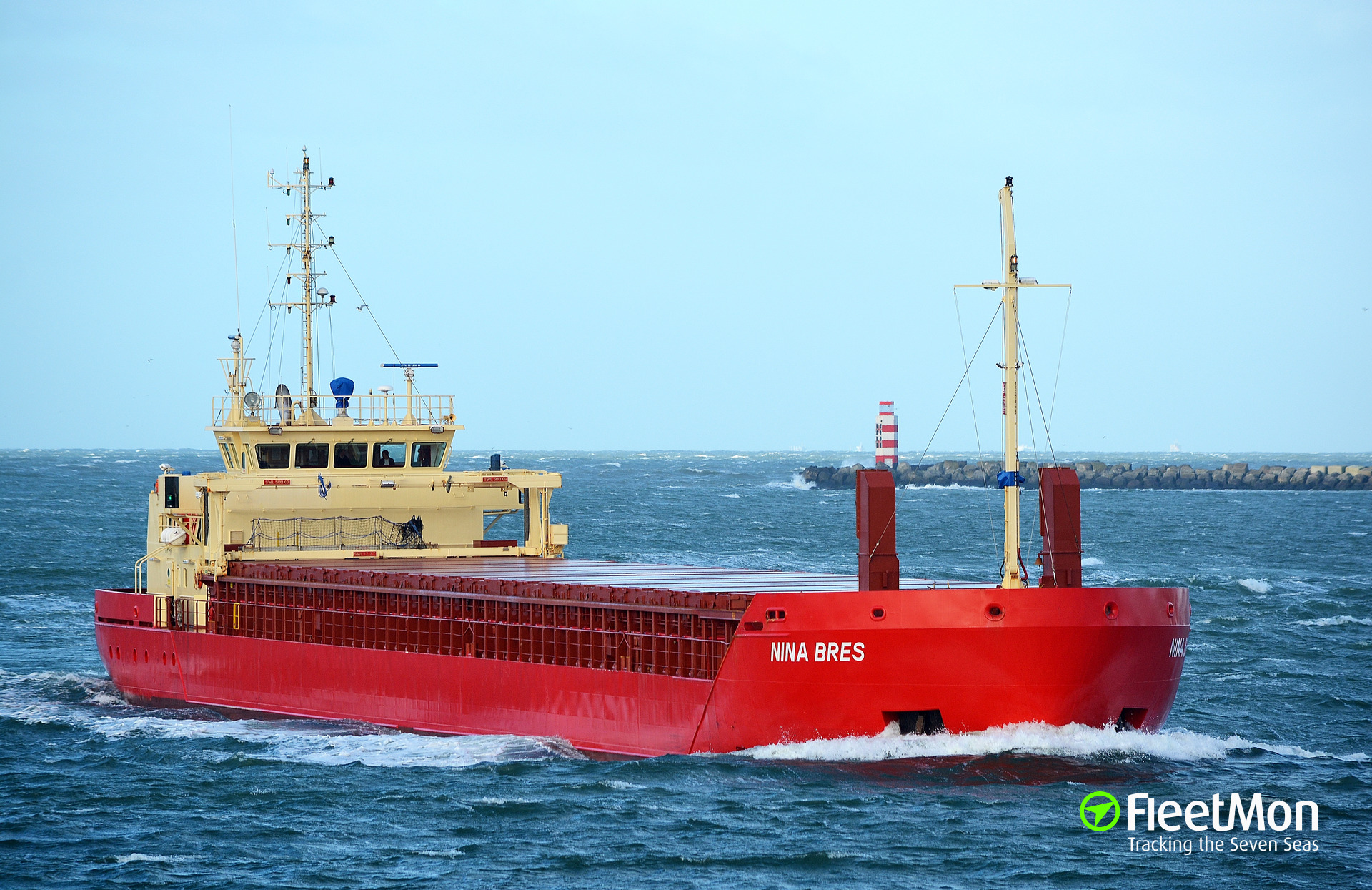 NINA BRES barred traffic in Kiel Canal