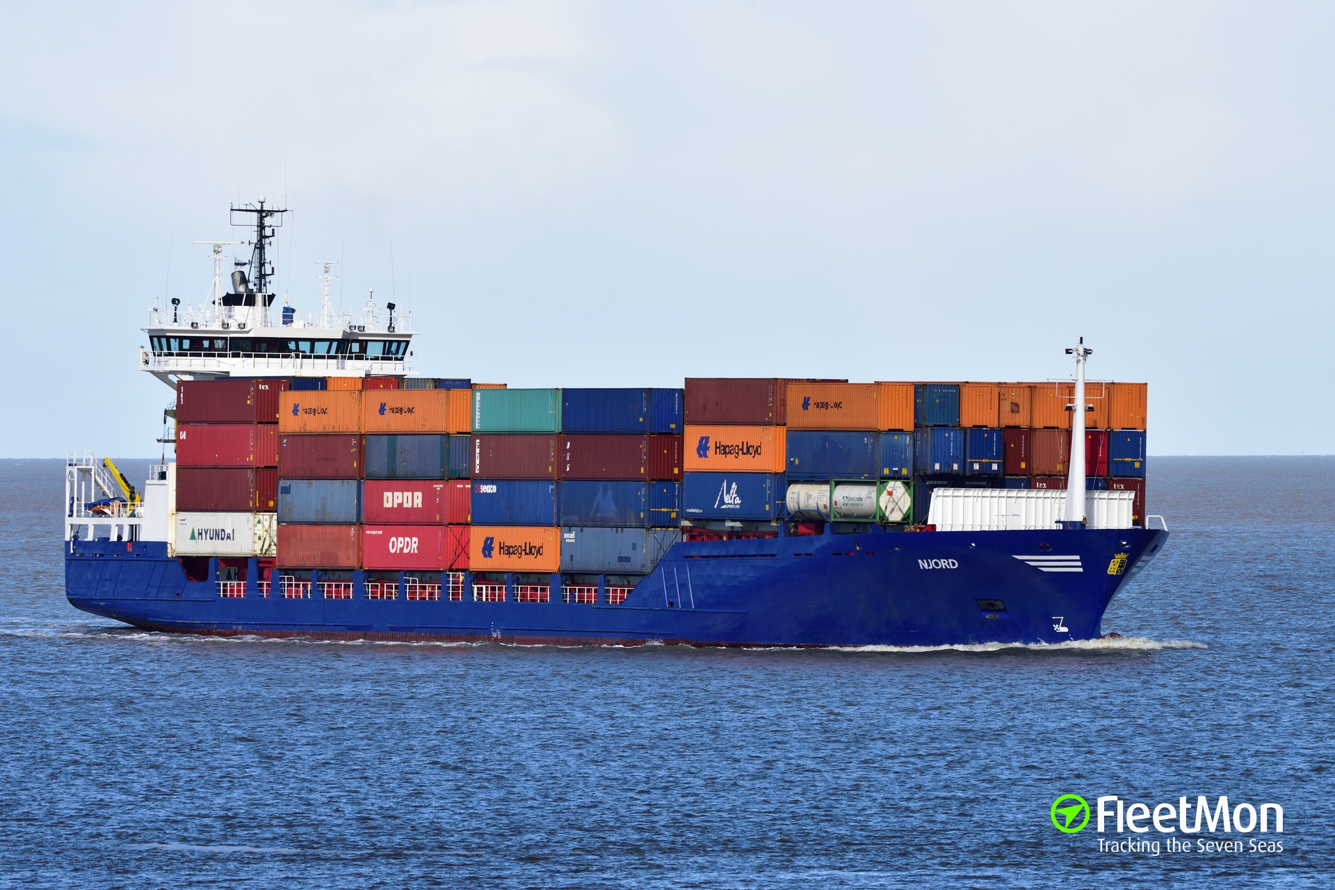 Container ship grounding in Baltic sea Update