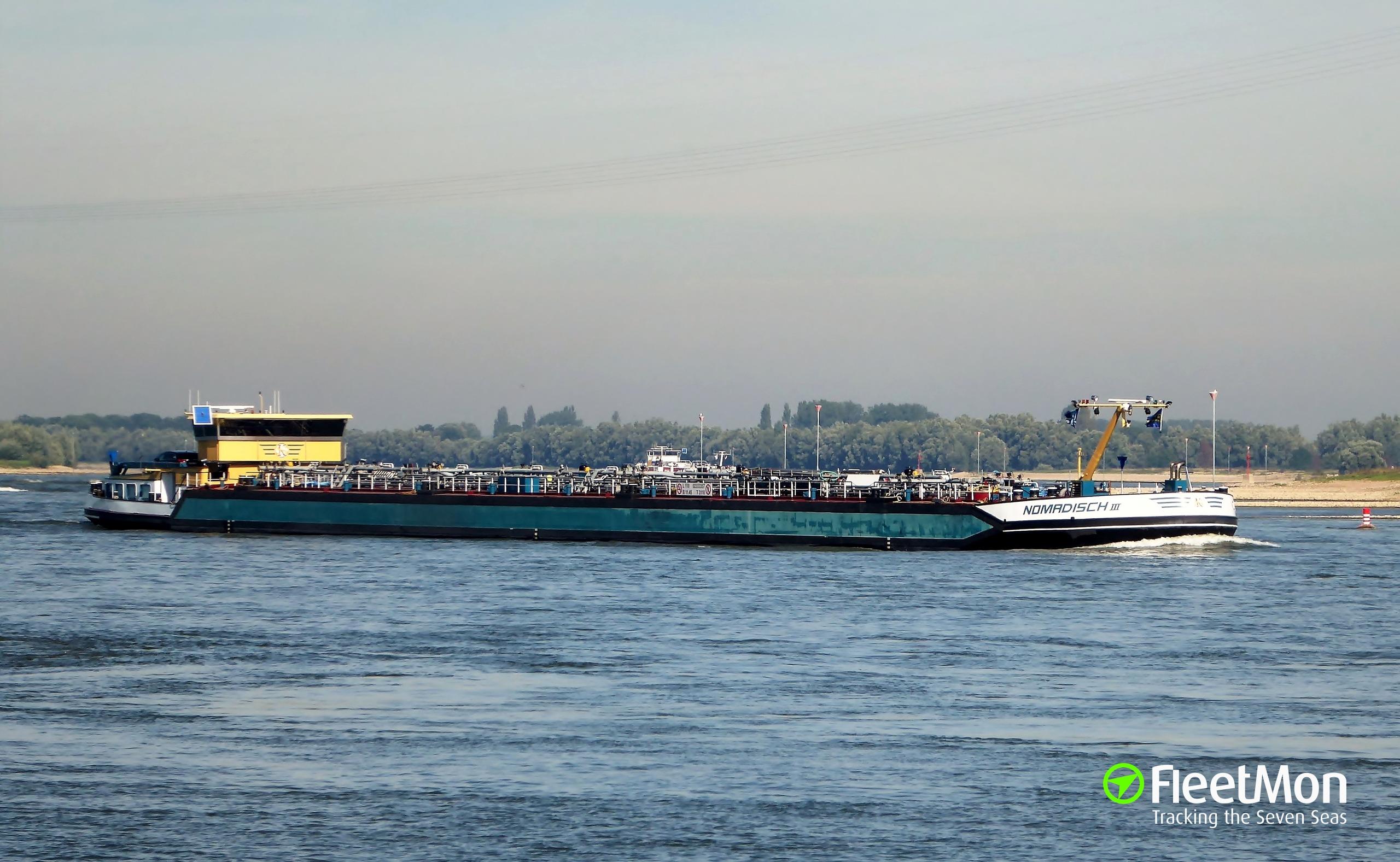 Maritime Bad Godesberg : Photo of NOMADISCH 3 (MMSI 244700253, Callsign PB7696) taken by