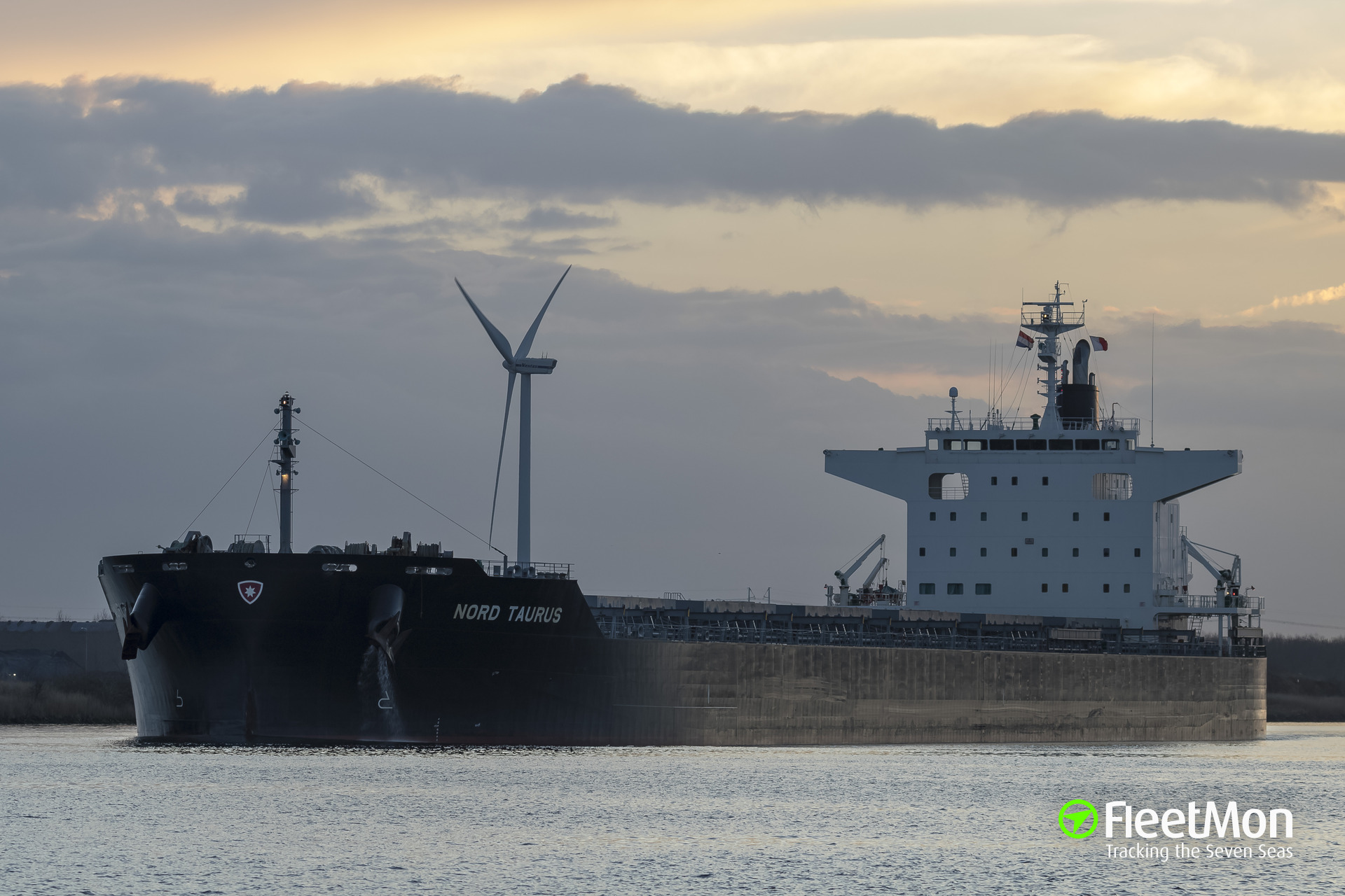 Japanese bulk carrier collided with Dutch pilot boat